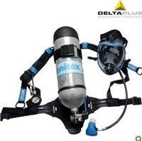 Delta 106005 protective mask, positive pressure air respirator 6.8L self-contained