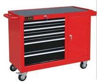 五層抽屜式帶側柜工具車 五金工具手推車工具箱
