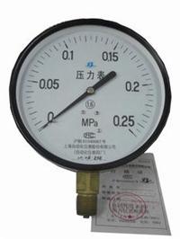 上海自仪四厂压力表气压表 Y-150 M20*1.5