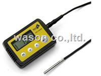 Single probe temperature data logger
