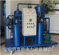 双级真空滤油机厂家 DZJ-II