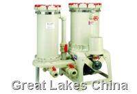 塑宝过滤机双塔自吸式化学药液过滤机SLD型 双塔自吸式化学药液过滤机SLD型