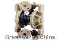 塑宝隔膜泵VERSA气动式隔膜化学泵浦V/E型 VERSA双隔膜气动式塑钢化化学泵浦V/E型