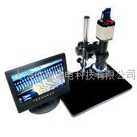 高清电视数码工业液晶检测显微镜 XDC-10A+VGA200工业相机+液晶显示器