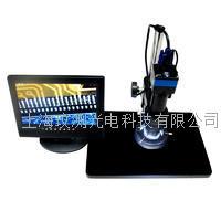 200万高速高清工业检测视频数码显微镜 XDC-10A显微镜+200万高速工业相机+液晶显示器+LED环形光源
