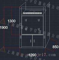 非标定制实验室各种规格各种材质通风柜
