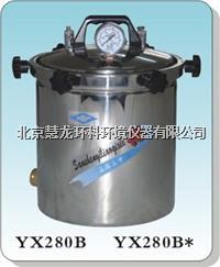 YX280B*手提式不銹鋼壓力蒸汽滅菌器 YX280B*煤電兩用型