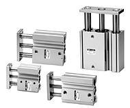 产品描述SMC薄型带导杆气缸/贴标头