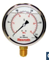 力士乐REXROTH压力计R900771208的使用须知 ABZMM63-250 BAR/MPA-U/V-G