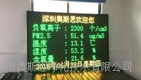 广东省景区负氧离子检测温湿度含氧量不间断实时监测设备 OSEN-FY