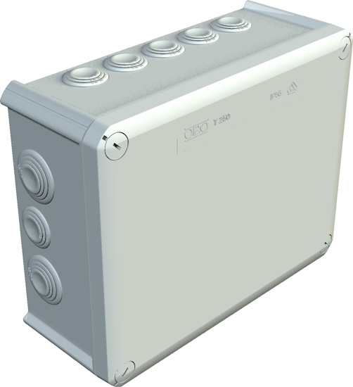 Junction box T 250, plug-in seal