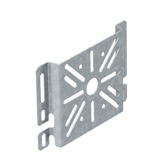 Mounting plate for cable tray