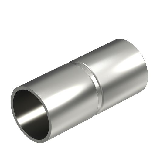 Stainless steel pipe connection sleeve, V2A