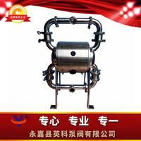 乳劑衛生級輸送泵 果粒飲料輸送隔膜泵 食品級氣動隔膜泵 YKQW