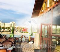 西安戶外餐廳高壓噴霧降溫系統 餐廳莊園降溫獨立智能設備廠家 JS-A40
