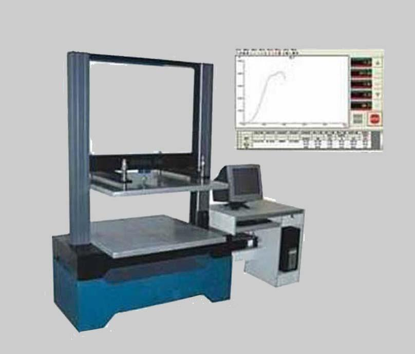 電腦伺服包裝壓縮試驗機