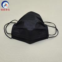 定制l黑色四层工业活性碳口罩 餐饮口罩