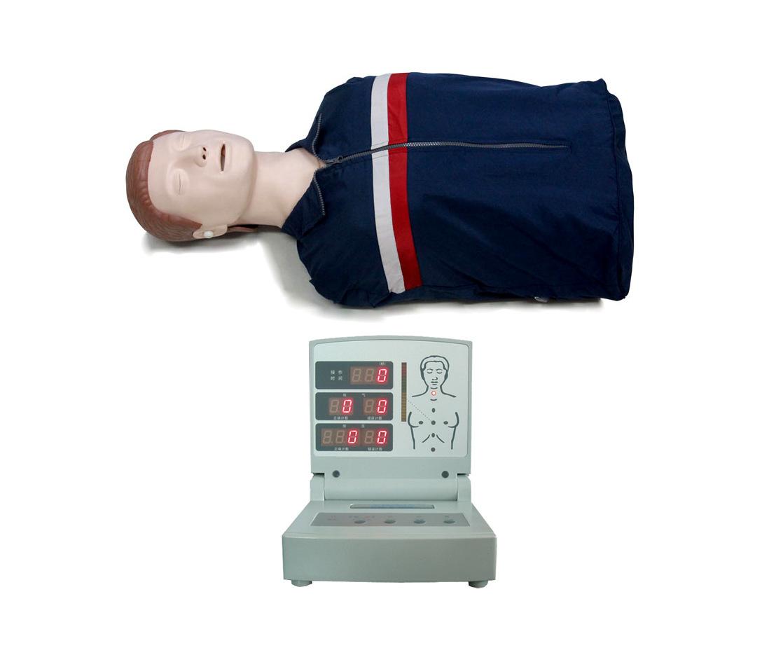 半身电脑心肺复苏模拟人
