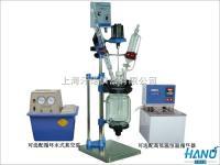 促销小型实验用双层玻璃反应釜价格 1L-5L