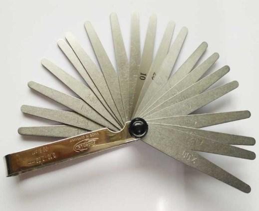 现货德国Phoenix凤凰厚薄规25410004厚薄片0.10-2.0mm共20片塞尺